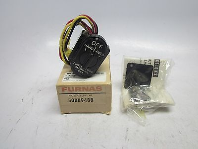 New Furnas 50BB9488 Hand Off Auto Selector Switch Kit