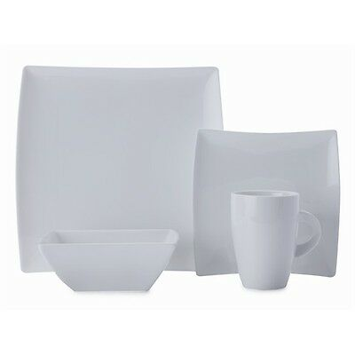 New Maxwell & Williams White Basics West Meets East 16 Piece Dinner Set