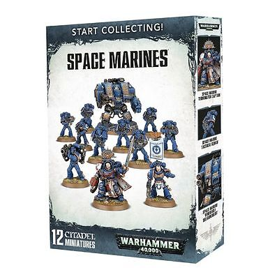 Warhammer 40K -  Start Collecting Space Marines - UK - Games Workshop