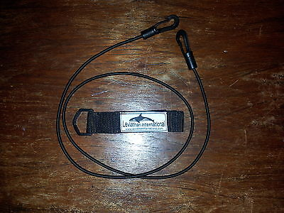 4mm KAYAK / CANOE PADDLE LEASH (25mm wide strap)