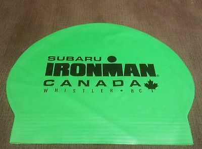 Iron Man Canada Swimming Cap Triathlon