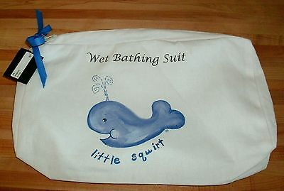 New Boutique Wet Bathing Suit Bag Toddler Swimsuit Beach / Pool Baby Travel Bag