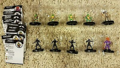 TMNT Series 2 Heroclix Heroes in a Half-Shell Common Set COMPLETE 001 - 010