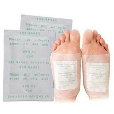 10PCS Detox Foot Pads Patch Detoxify Toxins Adhesive Keeping Fit Health Care
