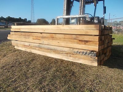 Hardwood Timber Posts 125mm x 75mm x 2.4m $15 each