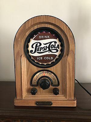 Vintage 1996 Pepsi-Cola Drink SOSL SOHO Radio AM/FM 120V 8W Collectors Series