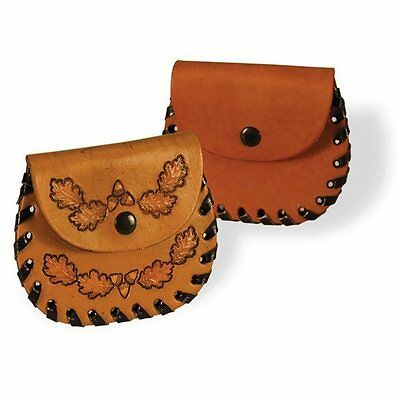 POCKET COIN HOLDER - LEATHER KIT by TANDY - FREE SHIPPING!