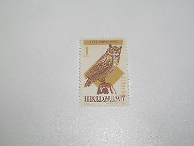 Timbre Poste Neuf Stamp TTB Uruguay Buho