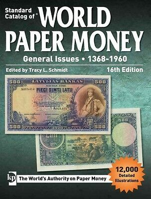 Standard Catalog of World Paper Money, General Issues 1368-1960-NEW 2017 16th Ed