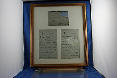Unique Prince Of Wales King Edward VIII Signed Personal Letter Lord Victor Paget