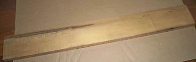 Hades Roasted Maple, 4A+ Curly Bass Guitar Neck Blank