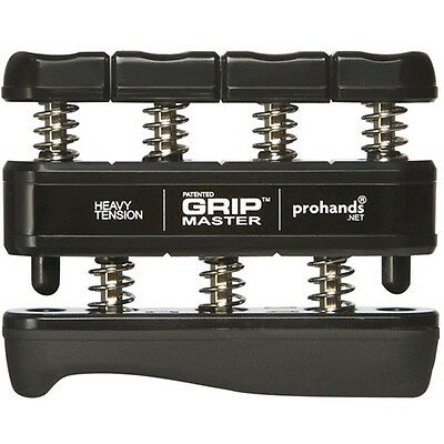 Gripmaster Hand Exerciser - Heavy (Black)