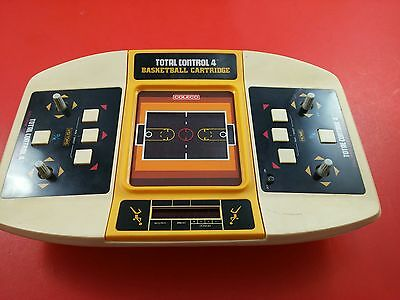 Coleco Total Control 4 (1981, LED, Handheld Tabletop Arcade) Tested & Working