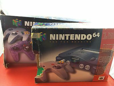 Bundle Lot of 2x Nintendo 64 System Console Empty Boxes [Damaged]