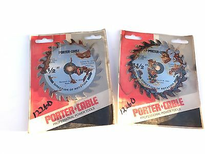 """Porter Cable Saw Blade 4 1/2"""" To Use With The Poter Cable 314 Trim Saw..new!!"""