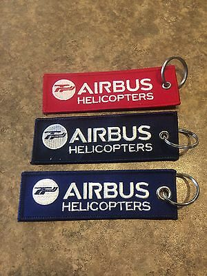 3x Airbus Helicopters Remove Before Flight Keychains