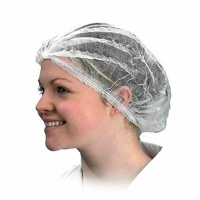 Disposable Mob Mop Caps Hair Nets Spray Tan Fake Tan Choose Pack Size