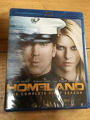 NEW SEALED Homeland: The Complete First Season (Blu-ray Disc, 2012, 3-Disc Set)