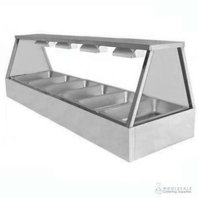 Hot Food Display Self Service 6 Bay Benchtop Woodson W.HFSS26 PANS NOT INCLUDED