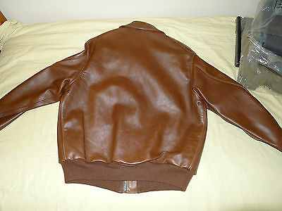 Eastman Leather WWII Type A-2: Rough Wear 42-1401-P NOS original Crown zipper