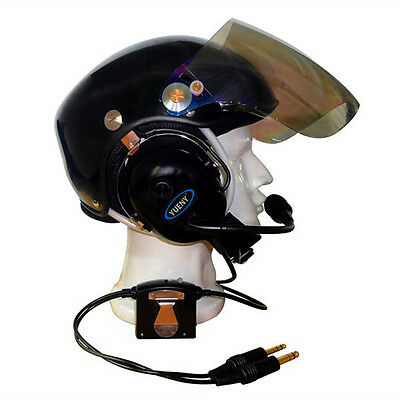 ANR aviation helmet with Active Noise Reduction YUENY  YAHH-2000F pilot helmet