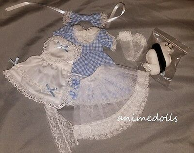 BJD FairyLand Doll YoSD LittleFee Lishe Alice Full Outfit Dress Set NEW w/ Shoes