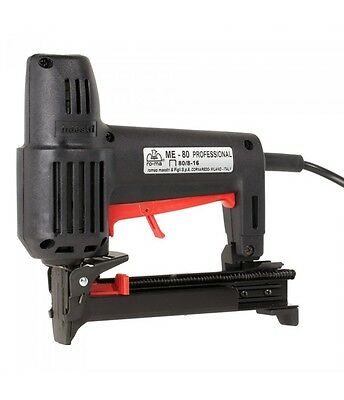 RO-MA Professional Heavy Duty Electric 80 Series Staple Gun (Made in Italy)