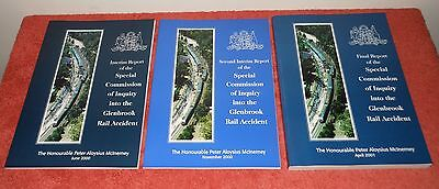 "Rare! Original Report ""special Commission Into The Glenbrook Rail Accident"" 1999"