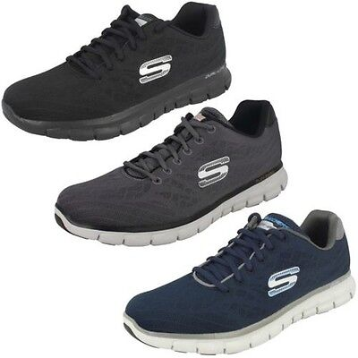 Mens Skechers Casual Trainer 'Synergy Fine Tune'