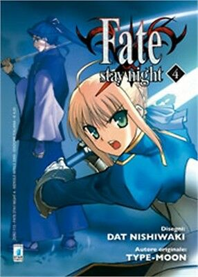 SC0705 - Manga - Star Comics - Fate Stay Night 4 - Nuovo !!!