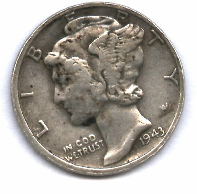 Magician Coin * 1943 Mercury Dime Welded To Wheat Cent * Neat & Affordable !!