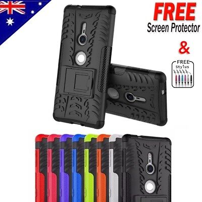 Heavy Duty Tough Shockproof Strong Case Cover For Sony Xperia XZ Premium / XZ2