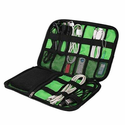 Electronic Accessories Cable USB Drive Organizer Bag Travel Insert Case Hot