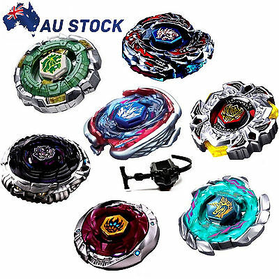 Beyblade 4D Rapidity Metal Fusion Fight Master Collection With Launcher