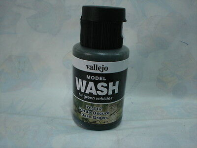 VALLEJO MODEL WASH 35ml - 76512 DARK GREEN
