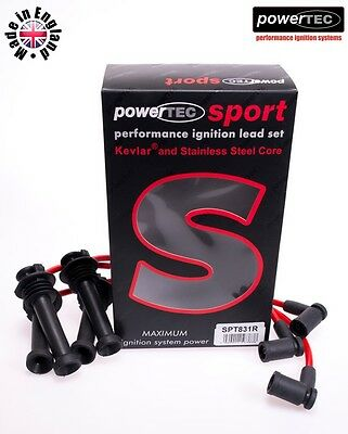 PowerTEC Sport 8mm Performance Ignition HT Lead Wire Ford Mondeo 1.6 1.8 2.0 98