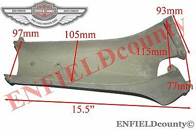 Horn Cast Horncasting Front Nose Steel Made Lambretta Gp Scooter @aud