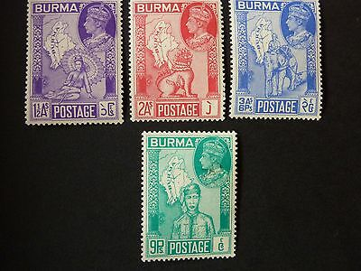 107]  Burma  Stamps  --  1946 Victory - M/m