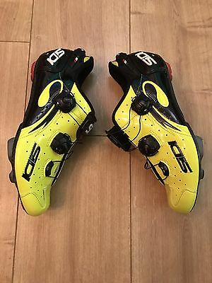Sidi Wire Carbon Road Cycling Shoes UK 8 (EU 43) RRP £325