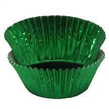 Green Foil Baking Cups - 50 Pack