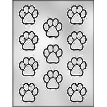 Paw Print Mould - % donated to the RSPCA