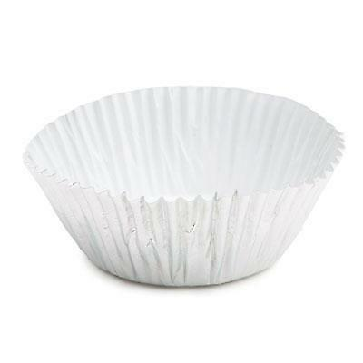 Silver Foil Baking Cups - 50 Pack