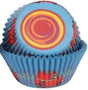 Fireman Cupcake Cases  - 50 Pack