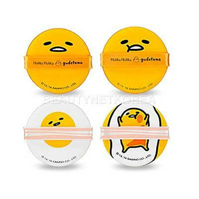 [HOLIKA HOLIKA] Gudetama LAZY & EASY Chap Chap Cushion Puff 4EA