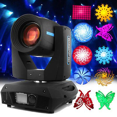 330w Zoom Moving head Light 14 Colors Gobos Beam 16 Prism DMX DJ Party Stage Bar