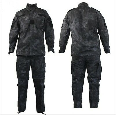 TYPHON Military Tactical Special Force Combat Uniform Jacket Pants Suits Kryptek