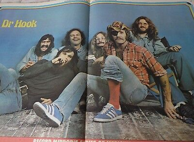 Dr. Hook  1976 Original Magazine Poster A2 Size Very Nice Example