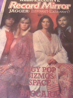"Abba Magazine Cover & Article From 1977  ""state Of Newave V Ulvaeus"""