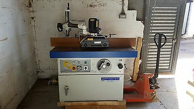 Axminster 3 phase spindle moulder. Excellent condition RRP £6208.65