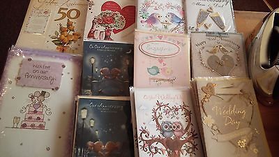 Greetings Cards - Job Lot.  Over 1500 separate cards of all occasions.